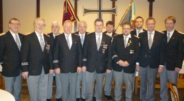 Der Vorstand der Kameradschaft 2015